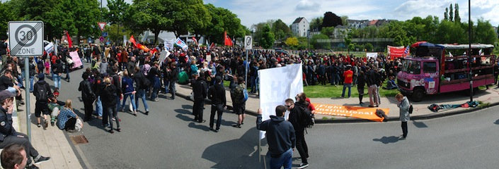 Panorama Solingen Demo