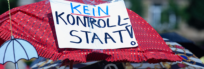 Kein KontrollSTAAT - CC-BY Tobias M. Eckrich