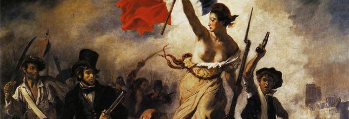 """""""La Liberté guidant le peuple"""" - 1830, Eugène Delacroix"""