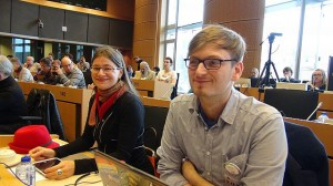 Anke Domscheit-Berg Europakandidaten Nr. 3 (links)