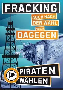 Fracking - Auch nach der Wahl noch DAGEGEN.