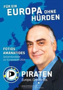 Fotios Amanatides - Europakandidat
