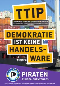 TTIP - Demokratie ist keine Handelsware