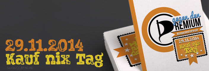KAUF NIX TAG - BANNER - CC-BY-NC-ND by be-him