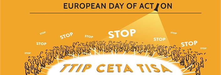 TTIP CETA TISA - European Day of Action