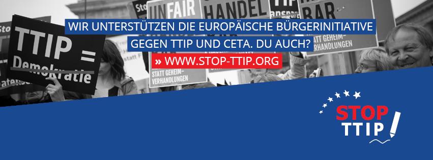 Nein zum Freihandelsabkommen CETA