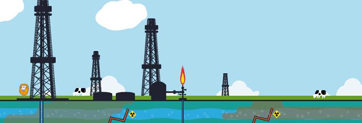 Fracking? Dagegen!