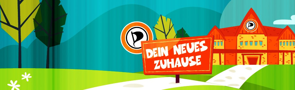 DEIN NEUES ZUHAUSE - PIRATEN - be-him CC BY NC ND