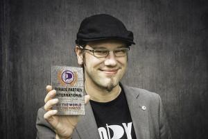 PPI - PIRATE PARTIES INTERNATIONAL - VICE CHAIRMAN PATRICK SCHIF