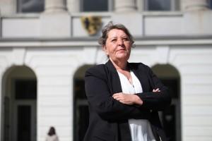 Sandra Leurs, Oberbürgermeister-Kandidatin der Piratenpartei für Krefeld
