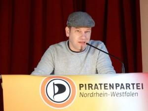 Patrick Schiffer, Vorsitzender Piratenpartei NRW - Foto: CC-BY SA Torsten Sommer
